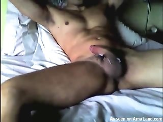 Anonymous Guy Playing With His Hairy Cock